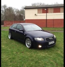 AUDI A3 2.0 TDI - 18 INCH ALLOYS - LOWERED - LOTS OF SERVICE HISTORY