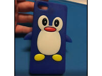I phone 5 penguin phone case (can post)