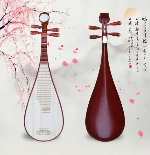 lute Liuqin - Chinese Soprano Pipa Dunhuang Musical Instrument / Adults 琵琶 #4857