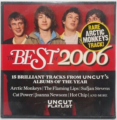 Uncut Best Of 2006 CD Compilation Arctic Monkeys The Flaming Lips Cat Power