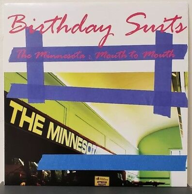 Birthday Suits - The Minnesota: Mouth To Mouth Vinyl Learning Curve noise rock (Classic Rock Birthdays)