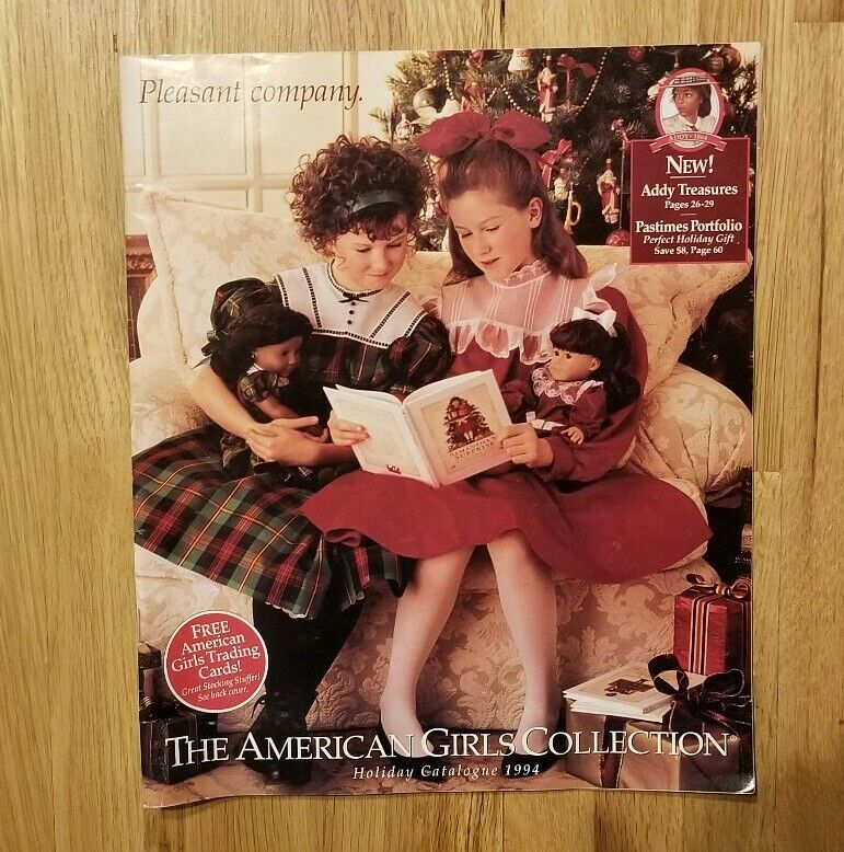 1994 AMERICAN GIRLS COLLECTION Holiday Catalogue Booklet Catalog - 65 pages