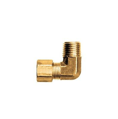 316 Tube Od Compression Elbow X 18 Male Npt Fitting Adapter Connector
