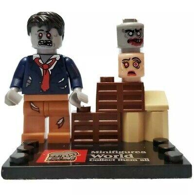 The Walking Dead Zombie Minifigure Custom Lego