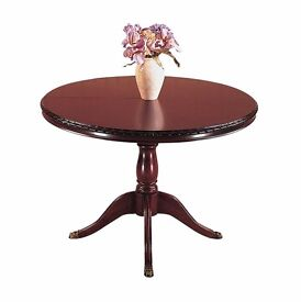 GOLA Mahogany Extendable Dining Table + 4 Chairs