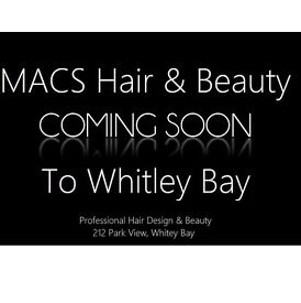 Chairs to rent in brand new salon in Whitley bay