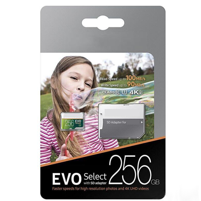Купить Samsung 256GB Micro SD XC Flash Memory Card Class 10 for Phone Camera Mp3