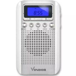 Digital AM / FM Portable Pocket Radio With Alarm Clock- Best reception