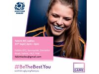 Falkirk RFC Ladies, Come and Try Day