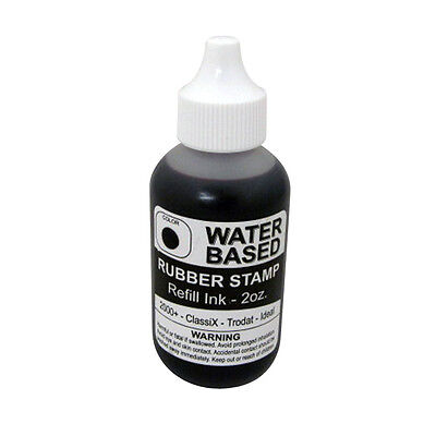 Water Based Refill Ink For Self-inking Stamps 2oz