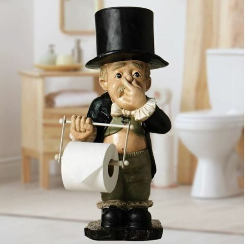 Toilet Butler With Roll Paper Holder Bathroom Cute Accessories  Room Decoration