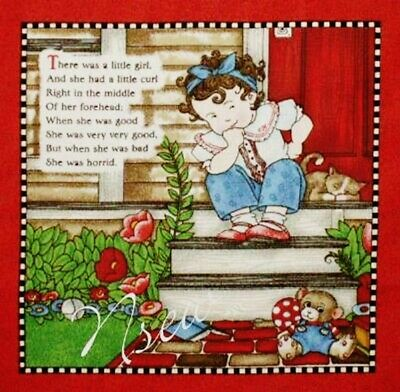 Used, Mary Engelbreit Fabric Book Panel-Quilt blocks-Vol 2 Mother Goose - Quilt Blocks for sale  Manchester