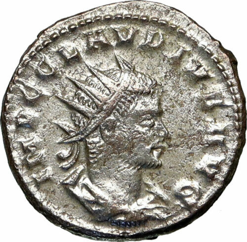 CLAUDIUS II Gothicus Authentic Ancient 268AD Antioch Roman Coin SERAPIS i84914