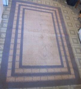 Tapis style IKEA - Blue and Cream Carpet