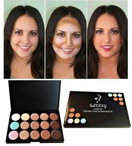 15 Colour Concealer Palette Face Makeup kit Contour Foundation Highlighter Cream