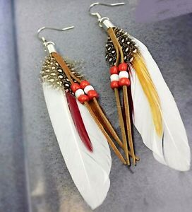 Native Art Earrings made by hand by local Artisan Yellowknife Northwest Territories image 3