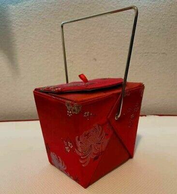 Chinese Food Box (YANS NY CHINESE TAKE OUT FOOD BOX SHAPED PURSE)