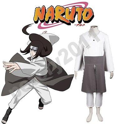 Naruto Hyuga Neji Cosplay Costume Kimono Anime Cos Cloth for sale  Shipping to Canada