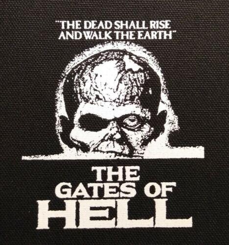PATCH - The Gates of Hell -canvas HORROR - Lucio Fulci, Gore, Italian Eurohorror