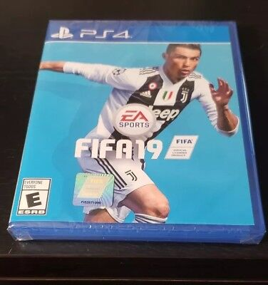 EA SPORTS FIFA 19 -STANDARD- (PLAYSTATION 4, PS4) BRAND NEW FACTORY SEALED..