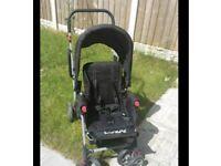 Joovy Caboose Stroller/Pram for 2