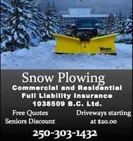Winter is Coming- Snow Plowing and Snow Removal