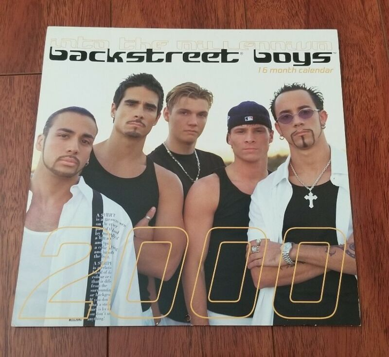 Backstreet Boys Into the Millennium 2000 16-month Calendar
