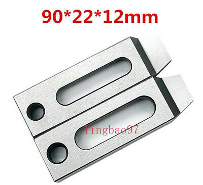 4pcs CNC Wire EDM Stainless Jig Holder For Clamping 70mm 80mm M8 Screw Size US