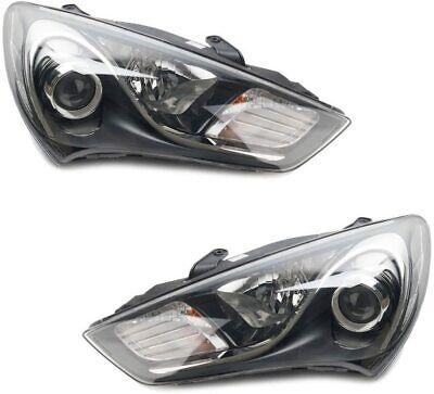 New OEM Halogen Head Light Lamp LH & RH for Hyundai Genesis Coupe 2012 ~ 2017