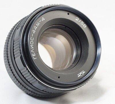 *SERVICED* HELIOS 44m-4 2/58 Russian Lens  M42 44-2