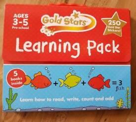 Kids Gold Stars Learning Pack