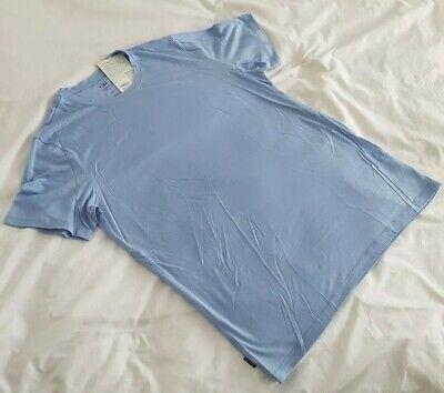 MEN'S ICEBREAKER TECH LITE MERINO T SHIRT - Sky Blue. Large - RRP £65