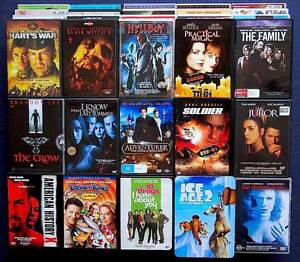50 DVDs Movies Private collection viewed once ( No X rentals ) Surfers Paradise Gold Coast City Preview