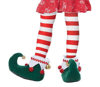 Elf Shoes Boots Christmas Santa Helper Child Kids Costume Accessory - Elf Shoes Kids