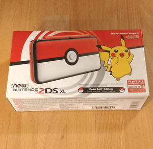 New 2DS XL Pokeball edition brand new in box