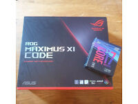 ROG Maximus XI Code Z390 Motherboard & Intel i7-8700k Delidded