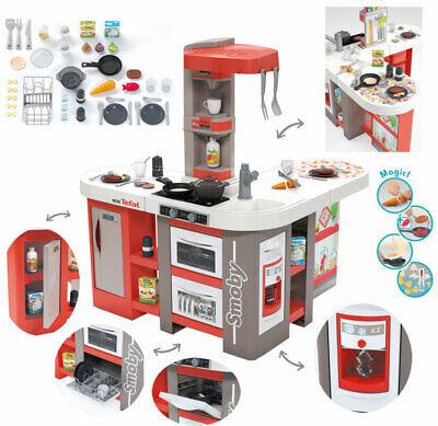 Smoby Mini Tefal Studio Bubble XXL Küche mit Zubehör (Rot)
