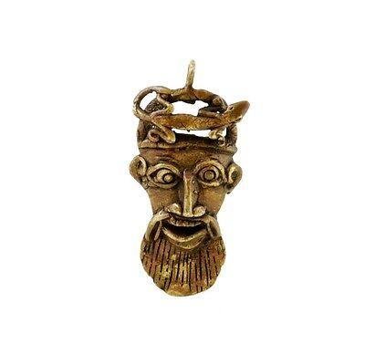 Mask African Bamoun Ancestor Gecko Door Keys B10 Th