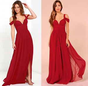 BRAND NEW OCEAN OF ELEGANCE WINE RED MAXI DRESS Kitchener / Waterloo Kitchener Area image 9
