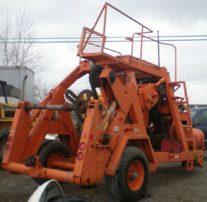 PENGO Cable Reel Trailer / Bull Wheel Cable Tensioner / Puller