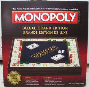 MONOPOLY - DELUXE GRAND EDITION
