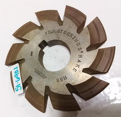 3d.p.stocking 5 Rake Hss Gear Cutter