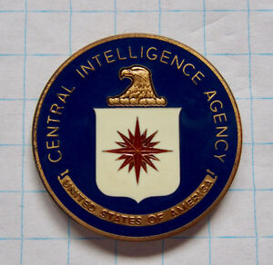 Central Intelligence Agency Coin