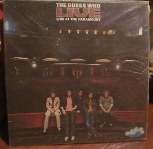 The GUESS WHO Vinyl LP 1972 LIVE at the Paramount *AMAZING Kitchener / Waterloo Kitchener Area image 1