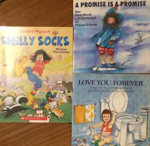 ROBERT MUNSCH Children's Books $4 each or all 3 for $10