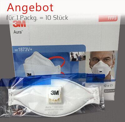 TOP :10 x Atemschutzmaske 3M™ Aura™ FFP3 1873V+