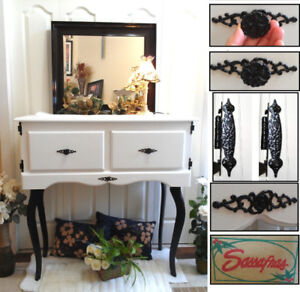 Stunning! Professionally Refinished 2-Drawer Vanity Dresser