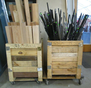 Wood and Metal Spindles - Various Styles and Various Prices Edmonton Edmonton Area image 2