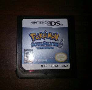 Pokemon Soulsilver DS ORIGINAL (GAME ONLY)