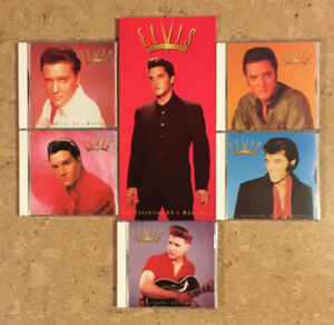 Elvis: From Nashville to Memphis The Essential 60s Masters 5 CDs
